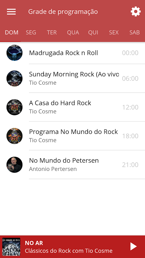 WEB RÁDIO NO MUNDO DO ROCK- screenshot
