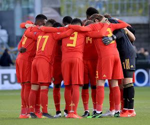 Les U17 belges se qualifient pour le Tour Elite de l'Euro 2020