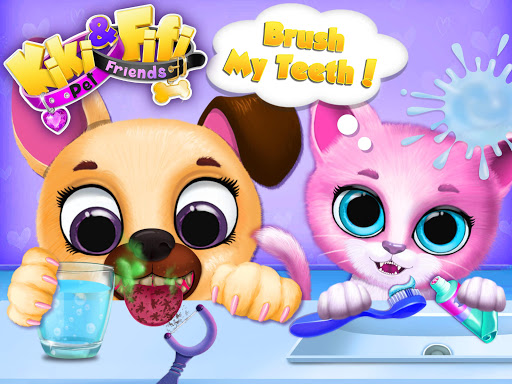 Kiki & Fifi Pet Friends - Furry Kitty & Puppy Care 2.0.98 screenshots 12