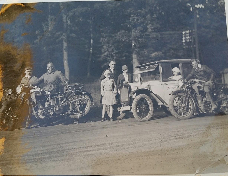 Die motorisierte Familie