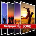 Live wallpaper for love icon
