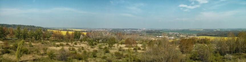 Photo: pohled z rozhledny na sever, směr Prudnik