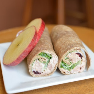 Cranberry Tuna Wrap.