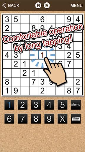 Comfortable Sudoku