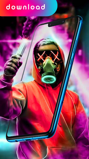 Neon Mask Wallpaper Led Purge Wallpaper 2020 Download Apk Free For Android Apktume Com
