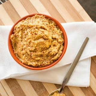 Homemade Whole Grain Spicy Beer Mustard Recipe