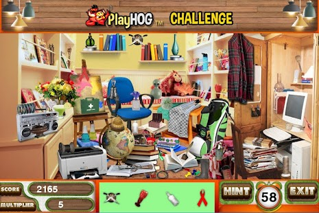 Challenge #223 Bright Home New Hidden Object Games - náhled