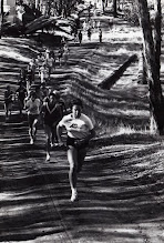 Photo: 1973 San Luis Obispo, cross country race Jacqueline Hansen