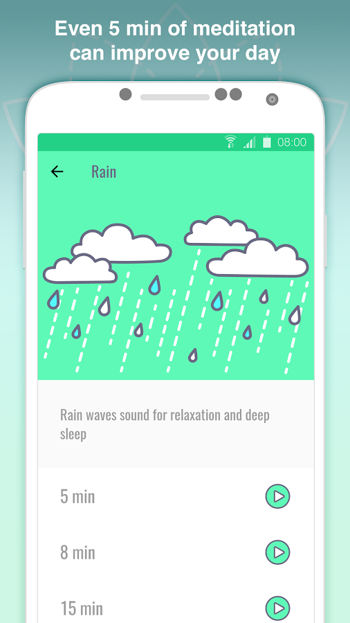 Pocket Relax - Relaxing sounds from nature- screenshot