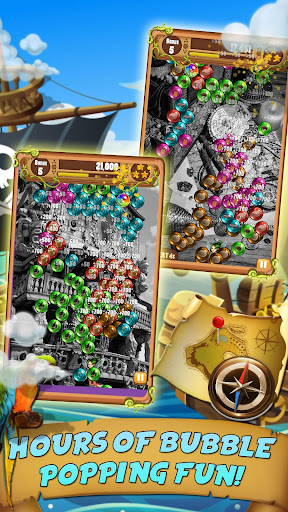 Bubble Quest Pirates Treasure - Bubble Shooter - screenshot