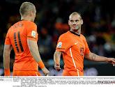 Wesley Sneijder estime qu'il aurait pu être au niveau de Messi et de Ronaldo