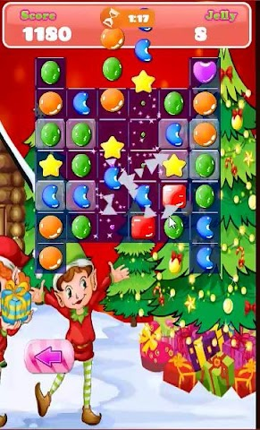 android Candy Match Hero: Xmas Session Screenshot 2