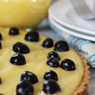 Lemon Curd Tart with Shortbread Cookie Crust