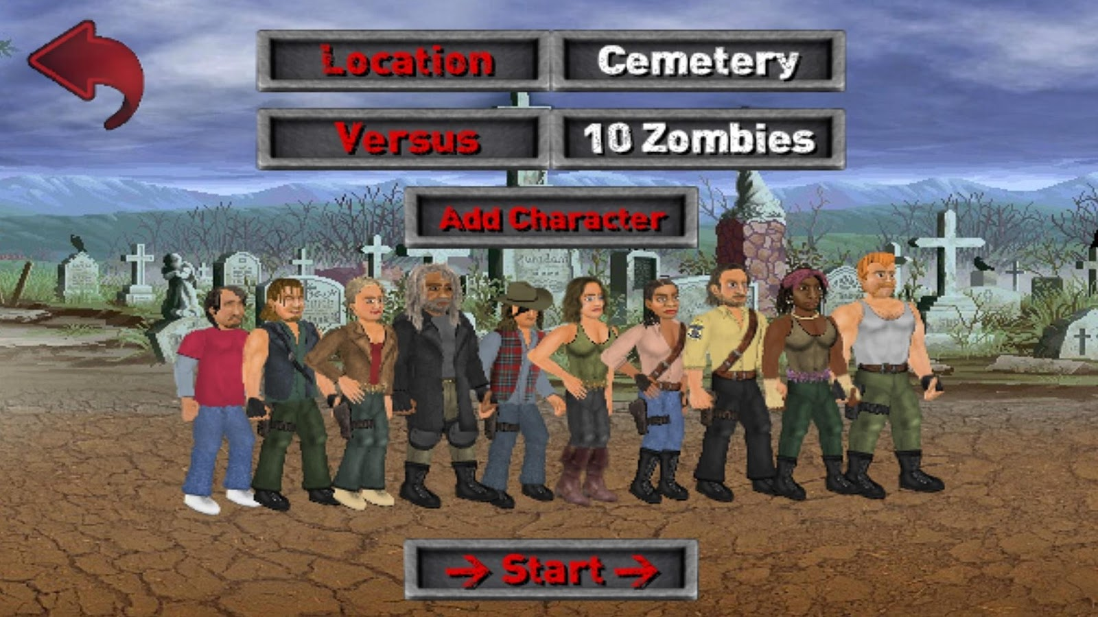 Extra Lives (Zombie Survival Sim)- screenshot