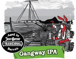 Logo of Red Hare Aged Gangway IPA
