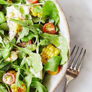 Summer Vegetable and Burrata Salad