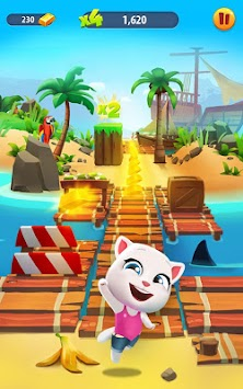 Talking Tom Corrida Do Ouro APK screenshot thumbnail 7