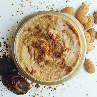 """DR. FUHRMAN'S ALMOND CHOCOLATE DIP (from page 283 of """"Eat to Live"""")."""