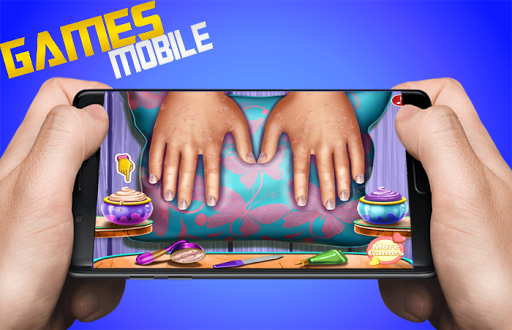 Floral Manicure game - girls Nails games 1.0.0 screenshots 2
