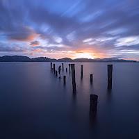 Sunrise in Torre del Lago di