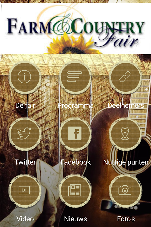Farm & Country Fair App- screenshot