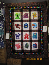 """Photo: Audrey Young - """"Monsters Under My Bed""""VOTED FAVORITE MEDIUM SIZE QUILT"""