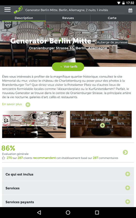 hostelbookers - Hostels – Capture d'écran