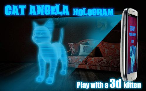 Cat-Angela-Hologram-3D-Kids 8