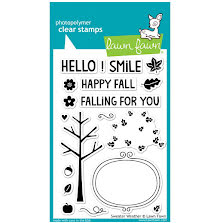 Lawn Fawn Clear Stamps 4X6 - Sweater Weather