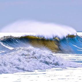 golden wave by Argirios Kostaras - Nature Up Close Water (  )