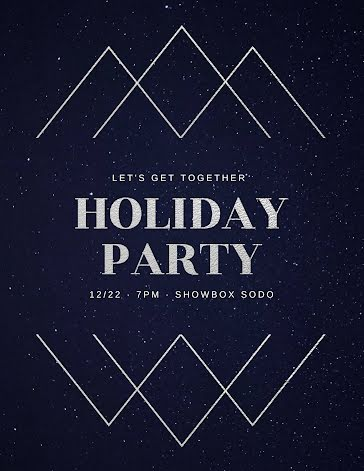 Let's Get Together - Christmas Template