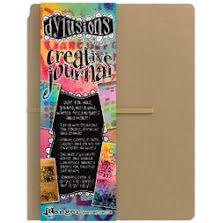 Dylusions Creative Journal Kraft 11.75X9