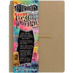 Dylusions Creative Journal Kraft 11.75X9