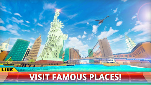 New York City Craft: Blocky NYC Building Game 3D download 2