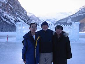 Photo: Richard M. Low, Elwyn Berlekamp and Takenobu Takizawa.