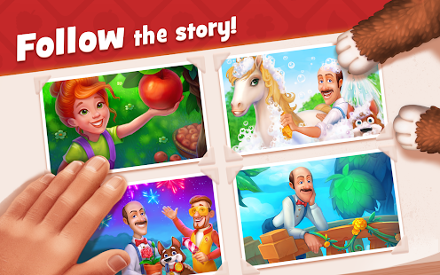 Game Gardenscapes APK for Windows Phone