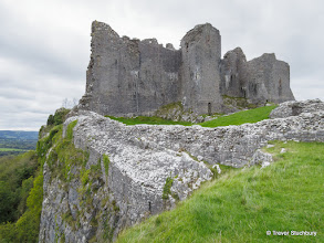 Photo: Castel Carreg Cennan, Brecon Beacons National Park