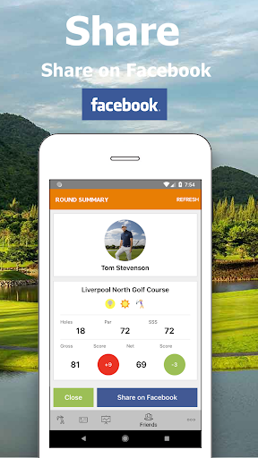 Golf Handicap - My Online Golf Club - screenshot
