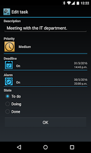 Tasks and Events Premium Screenshot