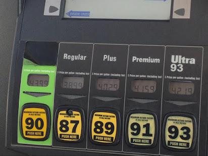 Sunoco gasoline ethanol free
