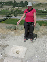 Photo: The world's first flushing squat toilet? Royal Urartian loo from 700 BC.