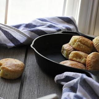 Cornmeal Cream Biscuits.