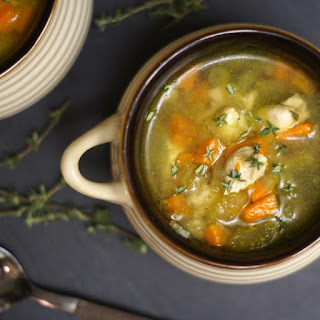 Chicken Soup With Beans And Vegetables Recipes