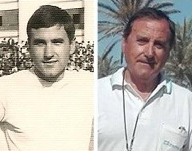 Manuel Ibáñez Nieto: una foto en los sesenta y otra en la actualidad.