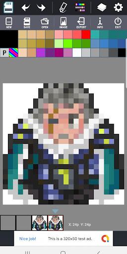 (Free) Dot Maker - Pixel Art Painter, Game Design screenshot 1