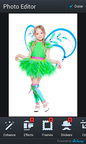 android enfants costume montages photo Screenshot 2