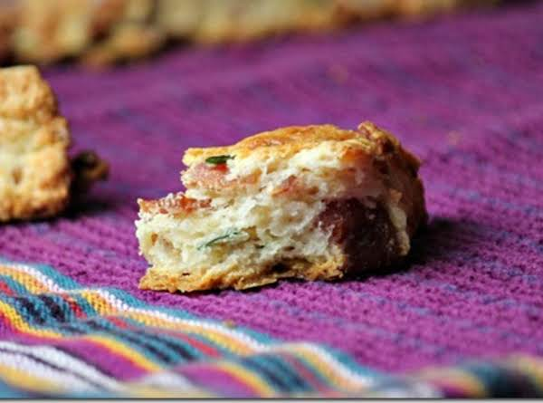 Bacon, Cheddar And Chive Scones Recipe