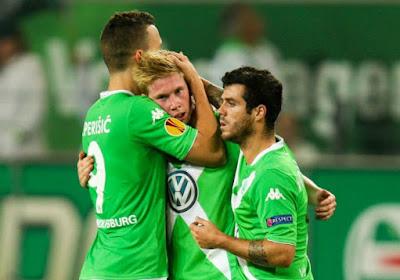 De Bruyne régale les supporters de Wolfsburg face à Krasnodar