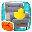 Kid Safe Flashcards - At Home: Learn First Words! icon