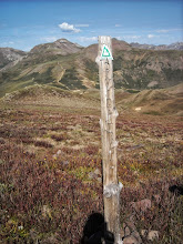 Photo: A good sign that we were on the correct trail.
